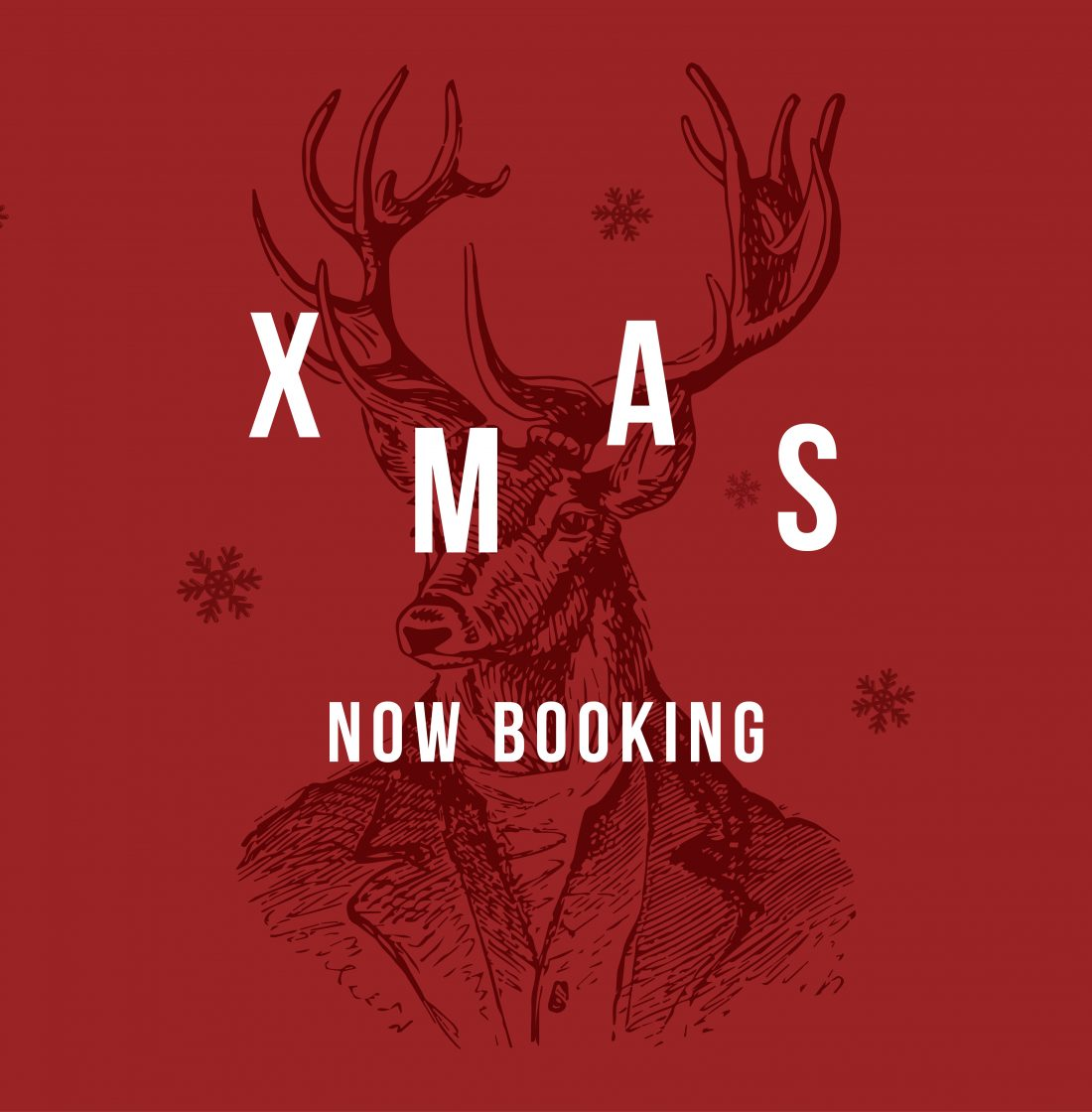 Christmas – taking bookings NOW!