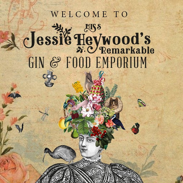 Jessie Heywood's Remarkable Gin & Food Emporium